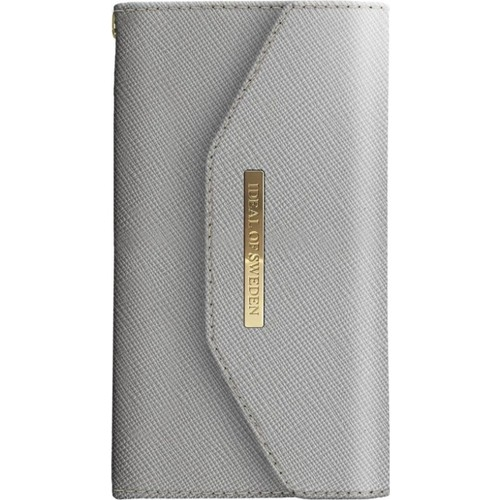 iDeal of Sweden Mayfair Clutch iPhone X Light Gri Kılıf + Arka Kapak
