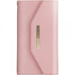 iDeal of Sweden Mayfair Clutch iPhone 8-7-6S-6 Pembe Kılıf + Arka Kapak