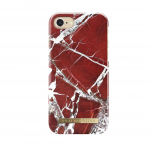 iDeal of Sweden iPhone 8/7/6/6S Scarlet Red Marble Arka Kapak