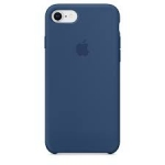 Apple Iphone 7 / 8 Silicone Case - Blue Cobalt