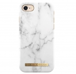 iDeal of Sweden iPhone 8 White Marble Arka Kapak