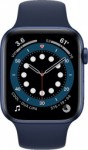 Apple Watch Series 6 GPS 44mm Blue Case With Deep Navy Sport Mavi